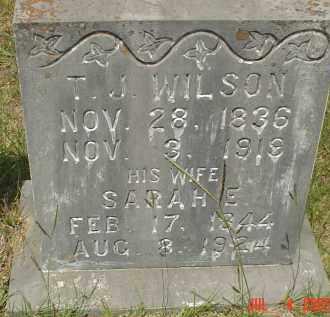 WILSON, THOMAS JEFFERSON - Drew County, Arkansas | THOMAS JEFFERSON WILSON - Arkansas Gravestone Photos