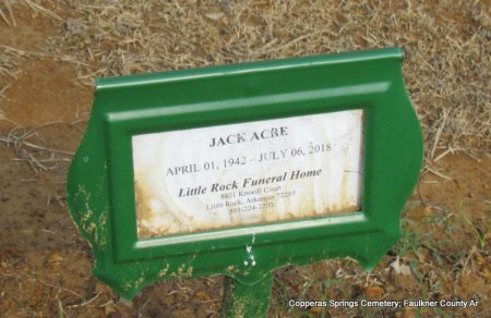 ACRE, JACK - Faulkner County, Arkansas | JACK ACRE - Arkansas Gravestone Photos