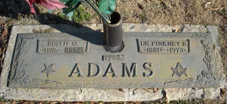 ADAMS, EDITH O. - Faulkner County, Arkansas | EDITH O. ADAMS - Arkansas Gravestone Photos