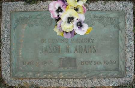 ADAMS, JASON M. - Faulkner County, Arkansas | JASON M. ADAMS - Arkansas Gravestone Photos