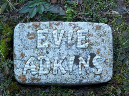"ADKINS, EVA ""EVIE"" - Faulkner County, Arkansas | EVA ""EVIE"" ADKINS - Arkansas Gravestone Photos"
