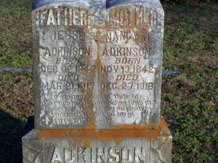 ADKINSON, NANCY J. - Faulkner County, Arkansas | NANCY J. ADKINSON - Arkansas Gravestone Photos