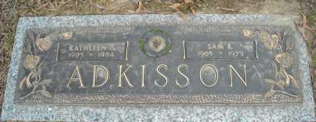 ADKISSON, KATHLEEN B. - Faulkner County, Arkansas   KATHLEEN B. ADKISSON - Arkansas Gravestone Photos