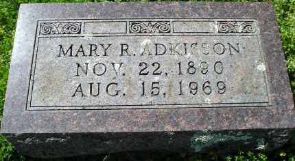 ROBINETTE ADKISSON, MARY R. - Faulkner County, Arkansas | MARY R. ROBINETTE ADKISSON - Arkansas Gravestone Photos