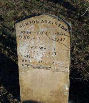 ADKISSON, NEWTON - Faulkner County, Arkansas   NEWTON ADKISSON - Arkansas Gravestone Photos