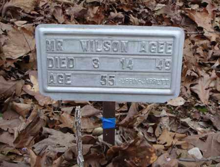 AGEE, MR. WILSON - Faulkner County, Arkansas | MR. WILSON AGEE - Arkansas Gravestone Photos