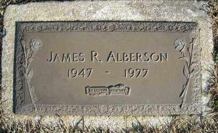 ALBERSON, JAMES R. - Faulkner County, Arkansas   JAMES R. ALBERSON - Arkansas Gravestone Photos