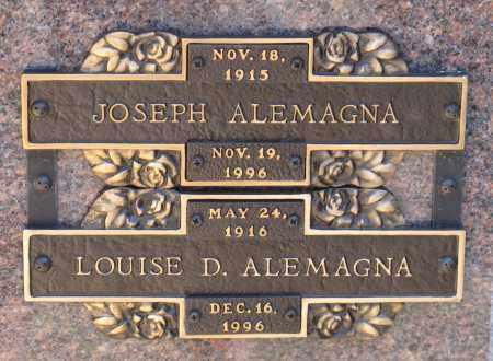 ALEMAGNA, LOUISE D. - Faulkner County, Arkansas   LOUISE D. ALEMAGNA - Arkansas Gravestone Photos