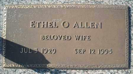 ALLEN, ETHEL O. - Faulkner County, Arkansas   ETHEL O. ALLEN - Arkansas Gravestone Photos