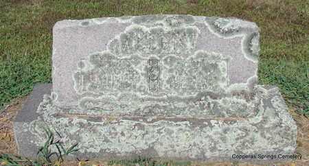 ALLEN, ANNA S. - Faulkner County, Arkansas | ANNA S. ALLEN - Arkansas Gravestone Photos