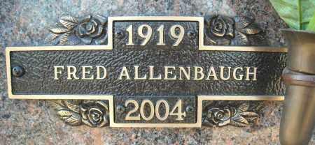 ALLENBAUGH, FRED - Faulkner County, Arkansas   FRED ALLENBAUGH - Arkansas Gravestone Photos