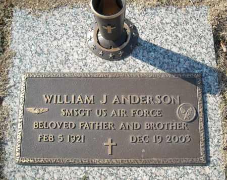 ANDERSON (VETERAN), WILLIAM J - Faulkner County, Arkansas | WILLIAM J ANDERSON (VETERAN) - Arkansas Gravestone Photos