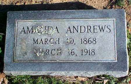 ANDREWS, AMANDA - Faulkner County, Arkansas | AMANDA ANDREWS - Arkansas Gravestone Photos