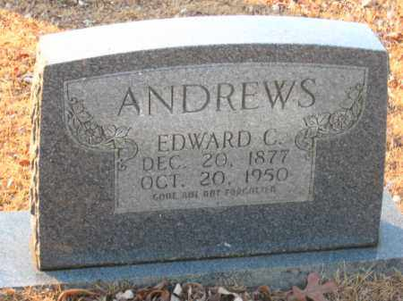 ANDREWS, EDWARD C. - Faulkner County, Arkansas | EDWARD C. ANDREWS - Arkansas Gravestone Photos