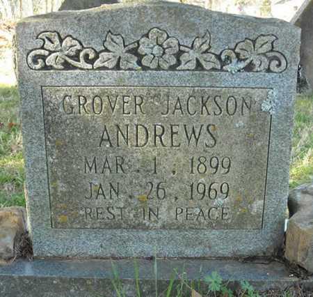 ANDREWS, GROVER JACKSON - Faulkner County, Arkansas | GROVER JACKSON ANDREWS - Arkansas Gravestone Photos
