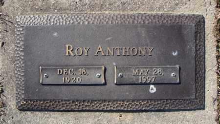 ANTHONY, ROY - Faulkner County, Arkansas | ROY ANTHONY - Arkansas Gravestone Photos