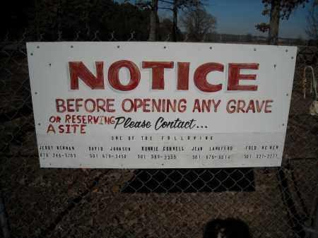 *ANTIOCH CONTACT SIGN,  - Faulkner County, Arkansas |  *ANTIOCH CONTACT SIGN - Arkansas Gravestone Photos