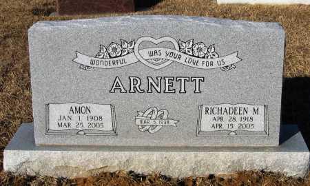 ARNETT, AMON - Faulkner County, Arkansas | AMON ARNETT - Arkansas Gravestone Photos