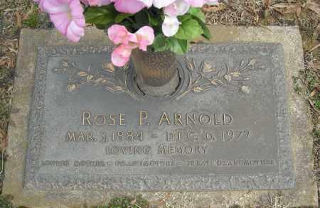 ARNOLD, ROSE P. - Faulkner County, Arkansas | ROSE P. ARNOLD - Arkansas Gravestone Photos