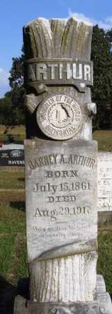 ARTHUR, BARNEY A. - Faulkner County, Arkansas | BARNEY A. ARTHUR - Arkansas Gravestone Photos