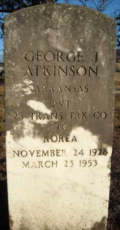 ATKINSON (VETERAN KOR), GEORGE J. - Faulkner County, Arkansas | GEORGE J. ATKINSON (VETERAN KOR) - Arkansas Gravestone Photos