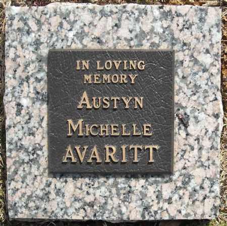 AVARITT, AUSTYN MICHELLE (1) - Faulkner County, Arkansas | AUSTYN MICHELLE (1) AVARITT - Arkansas Gravestone Photos