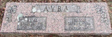 AVRA, TRESSIE MERLENE - Faulkner County, Arkansas | TRESSIE MERLENE AVRA - Arkansas Gravestone Photos
