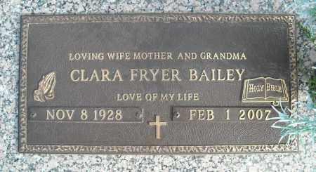 BAILEY, CLARA - Faulkner County, Arkansas | CLARA BAILEY - Arkansas Gravestone Photos