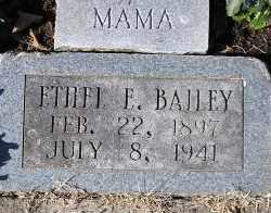 BAILEY, ETHEL E. - Faulkner County, Arkansas | ETHEL E. BAILEY - Arkansas Gravestone Photos