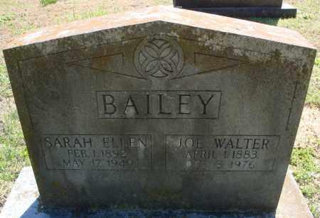 BAILEY, SARAH ELLEN - Faulkner County, Arkansas | SARAH ELLEN BAILEY - Arkansas Gravestone Photos