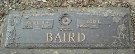 BAIRD, KENNETH A. - Faulkner County, Arkansas | KENNETH A. BAIRD - Arkansas Gravestone Photos