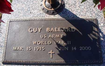 BALLARD (VETERAN WWII), GUY - Faulkner County, Arkansas | GUY BALLARD (VETERAN WWII) - Arkansas Gravestone Photos