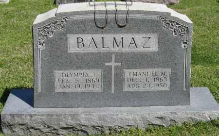 BALMAZ, OLYMPIA J. - Faulkner County, Arkansas | OLYMPIA J. BALMAZ - Arkansas Gravestone Photos