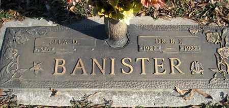 BANISTER, DR., B.F. - Faulkner County, Arkansas   B.F. BANISTER, DR. - Arkansas Gravestone Photos