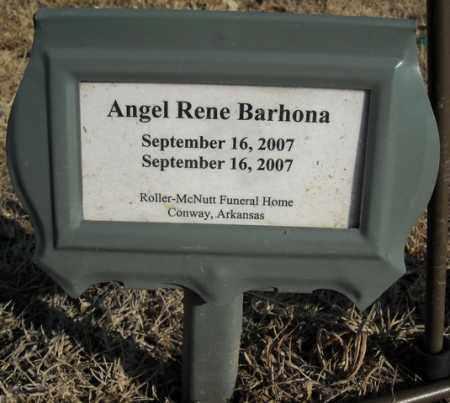 BARHONA (INFANT), ANGEL RENE - Faulkner County, Arkansas | ANGEL RENE BARHONA (INFANT) - Arkansas Gravestone Photos