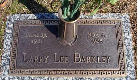 BARKLEY, LARRY LEE - Faulkner County, Arkansas | LARRY LEE BARKLEY - Arkansas Gravestone Photos