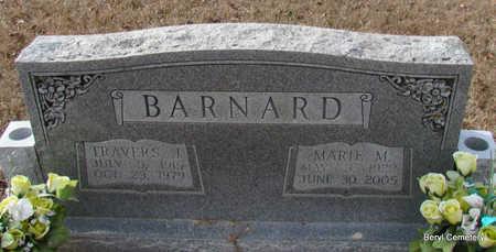 BARNARD, TRAVERS JACOB - Faulkner County, Arkansas | TRAVERS JACOB BARNARD - Arkansas Gravestone Photos