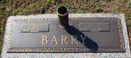 BARRY, EDWARD G. - Faulkner County, Arkansas | EDWARD G. BARRY - Arkansas Gravestone Photos
