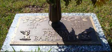 BARTLETT, FREDA - Faulkner County, Arkansas | FREDA BARTLETT - Arkansas Gravestone Photos