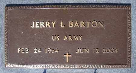 BARTON (VETERAN), JERRY L - Faulkner County, Arkansas | JERRY L BARTON (VETERAN) - Arkansas Gravestone Photos