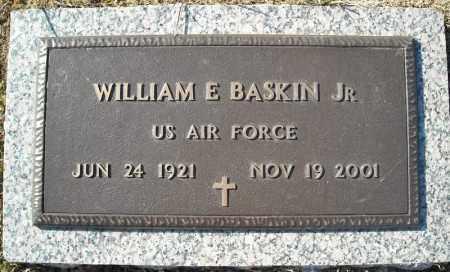 BASKIN, JR (VETERAN), WILLIAM E - Faulkner County, Arkansas   WILLIAM E BASKIN, JR (VETERAN) - Arkansas Gravestone Photos