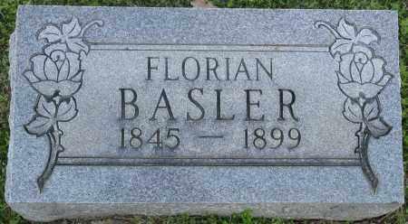 BASLER, FLORIAN - Faulkner County, Arkansas | FLORIAN BASLER - Arkansas Gravestone Photos