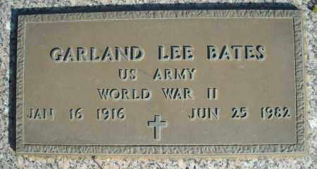 BATES (VETERAN WWII), GARLAND LEE - Faulkner County, Arkansas | GARLAND LEE BATES (VETERAN WWII) - Arkansas Gravestone Photos