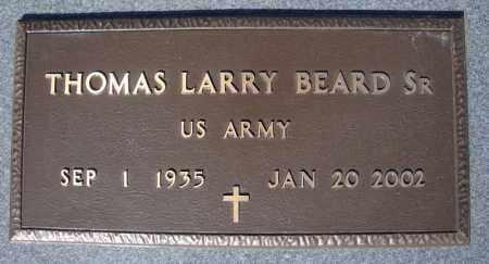 BEARD, SR (VETERAN), THOMAS LARRY - Faulkner County, Arkansas | THOMAS LARRY BEARD, SR (VETERAN) - Arkansas Gravestone Photos