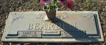 BEARDEN, LEWIS E. - Faulkner County, Arkansas | LEWIS E. BEARDEN - Arkansas Gravestone Photos