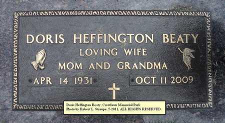 BEATY, DORIS - Faulkner County, Arkansas | DORIS BEATY - Arkansas Gravestone Photos