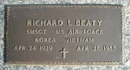 BEATY (VETERAN 2 WARS), RICHARD L - Faulkner County, Arkansas | RICHARD L BEATY (VETERAN 2 WARS) - Arkansas Gravestone Photos