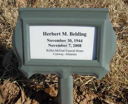 BELDING, HERBERT M. - Faulkner County, Arkansas   HERBERT M. BELDING - Arkansas Gravestone Photos