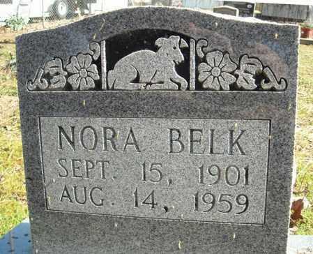 BELK, NORA - Faulkner County, Arkansas | NORA BELK - Arkansas Gravestone Photos