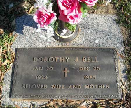 BELL, DOROTHY J. - Faulkner County, Arkansas | DOROTHY J. BELL - Arkansas Gravestone Photos